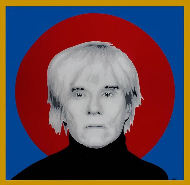 Andy Warhol by Elisabetta Fantone