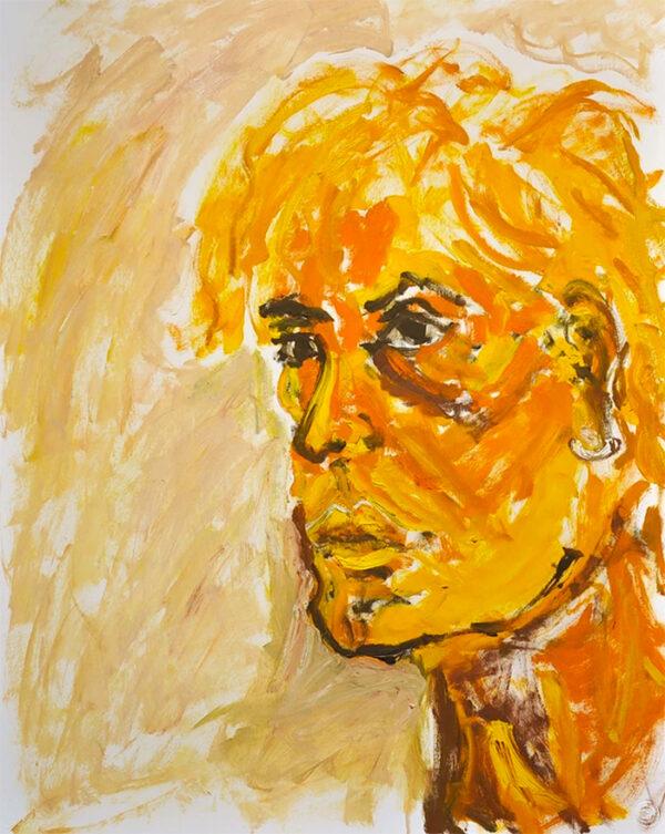 Portrait 'Yellow'