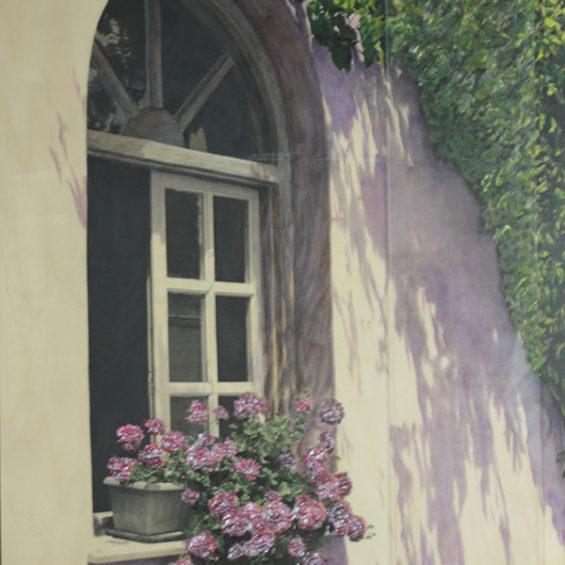 Windowsill in Bloom I - 24 x 18